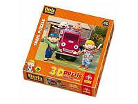 Детские пазлы 3D 35722  Trefl , Боб Строитель и друзья / HIT Ent., 48 дет
