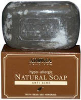Грязевое мыло против акнэ(юношеские и гормональные прыщи)  «Aroma Dead Sea» 125гр Израиль