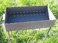 Стальные Мангалы для дома 600х300х135 мм