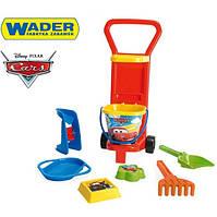 Игровой набор для песка с тележкой Cars Wader 77371C