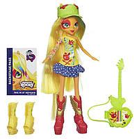 Кукла My Little Pony Equestria Girls Applejack Эппл Джек с гитарой
