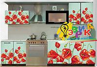 Виниловые наклейки для кухни. Наклейки дизайнерские на кухонную мебель