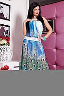 Шифоновое платье в пол Алена от Медини