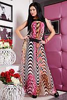 Шифоновое летнее платье в пол Алена от Медини
