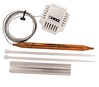 Термостатическая головка Herz Стандарт с накладным датчиком для напольного отопления 20-50°C 1 7420 06