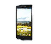 Силиконовый чехол для телефона Lenovo K900 белый