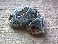 Стильные пинетки туфельки, 15 см