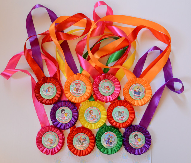 Медали из лент