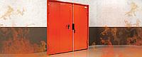 Противопожарные распашные ворота DoorHan DUS-235 2,8м*2м