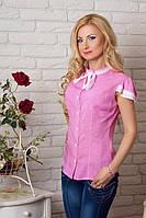 Молодежная женская рубашка