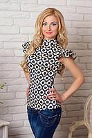 Женская блуза в красивый принт