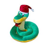 Мягкая игрушка Змея в колпаке средняя
