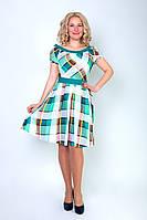 Стильное женское платье в модный принт