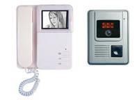 Домофон с визуальным наблюдением для Вашего жилища Seko, чёрно-белый экран, видеокамера с подсветкой