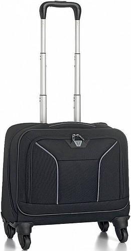 Мобильный офис 32 л. на колесах с карманом для ноутбука Roncato Ready 3349/01 черный