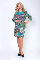 Модное женское платье стильного кроя
