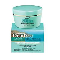 Крем дневной для сухой и чувствительной кожи Косметика Мертвого Моря