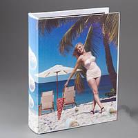 """Оригинальный Альбом для фотографий """"Пляж""""  19*24 см"""