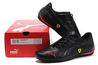 Спортивные, в стильном дизайне, чёрные кроссовки, р-ры 39-44, антимикробные стельки, от известных брендов
