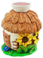Аромалампа из керамики - Хатка