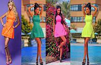"""Женское модное  платье """"Беби Долл"""" - 4 ярких цвета!"""