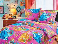 Детское полуторное постельное белье Принцесы