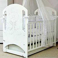 Кроватка маятник детская Соня ЛД 8