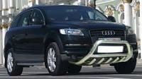 Защита бампера (кенгурятник, бугель, дуга) Audi Q7 нержавейка