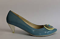 Туфли Piercing&Roof (голубые)