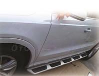 Боковые пороги Audi Q7 оригинальные