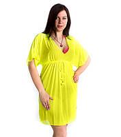 Туника для пляжа женская в стиле Doll, опт 125 грн.