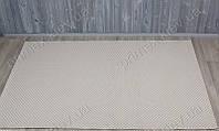 Безворсовый ковер-рогожка Balta Grace однотонный светло-кремовый