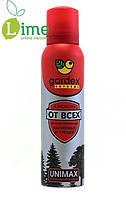 Аэрозоль-репеллент от комаров, клещей и мошек, Gardex