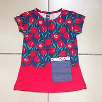 Детская одежда оптом Туника для девочек оптом р.1-7 лет