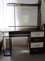 Компьютерный стол с надстроем