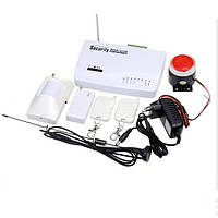 Охранная сигнализация GSM дистанционная датчик движения для дома дачи гаража автодозвон