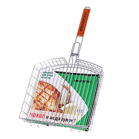 "Решетка-корзина Кемпинг ""Идеально для мяса на кости"" S-102"