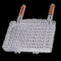 Двойная решетка-корзина с двумя ручками Кемпинг Мега S-103