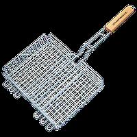 Решетка-корзина двойная для гриля с ручкой Campingaz 29х23 см