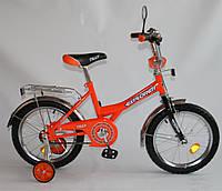 Велосипед EXPLORER 16 BT-CB-0036 оранжевый с черным