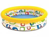 Детский надувной бассейн Геометрические фигуры Intex 59419 (114 х 25 см)