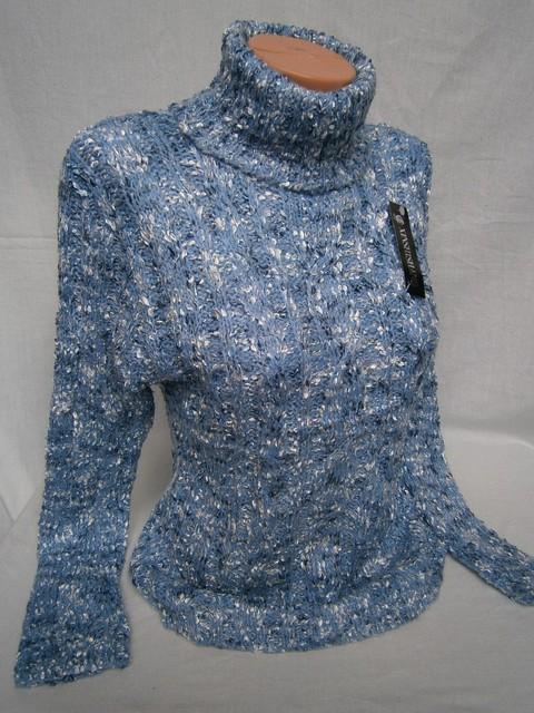 Теплые вязанные свитера женские доставка