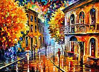 Наборы для рисования 40 × 50 см. Осенний дождь худ. Афремов, Леонид
