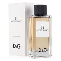 Женская туалетная вода Dolce & Gabbana D&G Anthology La Temperance №14 tester 100 мл