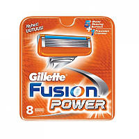Лезвия для бритвы Gillette Fusion Power