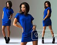 Платье Синий баллон