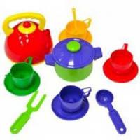 Набор детской посуды 16 предметов
