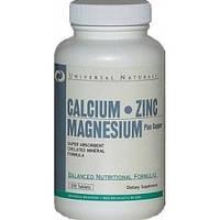 Витамины Universal Calcium-Zinc-Magnesium-100таб