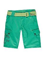 Мужские шорты зеленого цвета