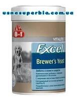 8 в 1 Витамины для собак и котов для шерсти и кожи Excel Brewers Yeast Пивные дрожжи (260 шт. / 185 мл)